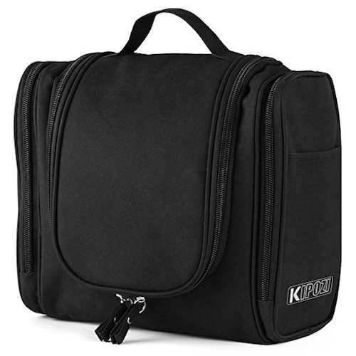 3. KIPOZI Hanging Toiletry Bag