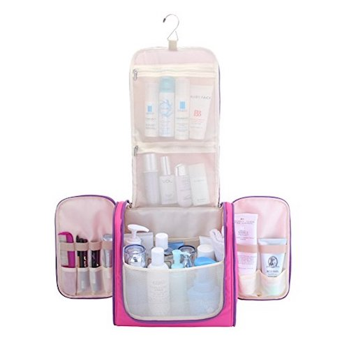 9. MelodySusie Hanging Toiletry Bag