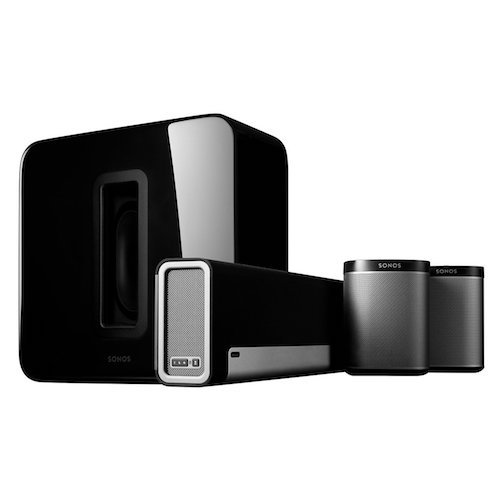 Best Home Theatre Systems: 1. Sonos 5.1 Home Theater System PLAYBAR, SUB, PLAY:1 Wireless Rears Combination