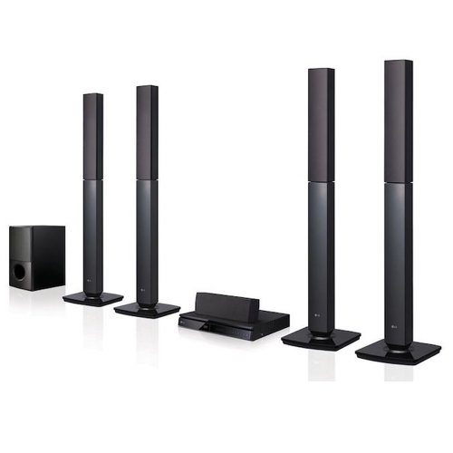 Best Home Theatre Systems: 7. LG LHD657 Bluetooth Multi Region Free 5.1-Channel Home Theater Speaker System w/ Free HDMI Cable