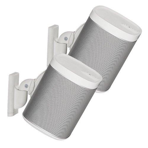 6. Sanus Wireless Speaker For Best Audio - Pair (White) - WSWM2-W1
