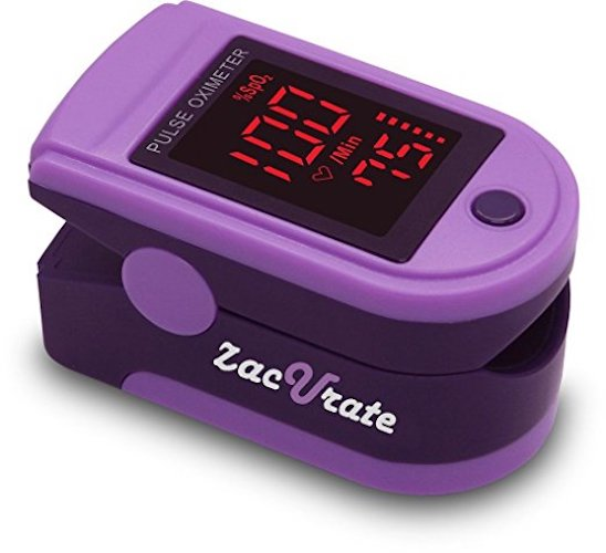 4. Zacurate Pro Series CMS 500DL Fingertip Pulse Oximeter