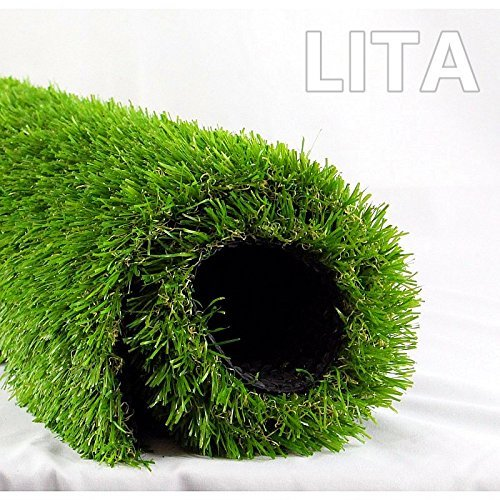 4. LITA Realistic indoor/outdoor Artificial Grass (28 in X 40 in)