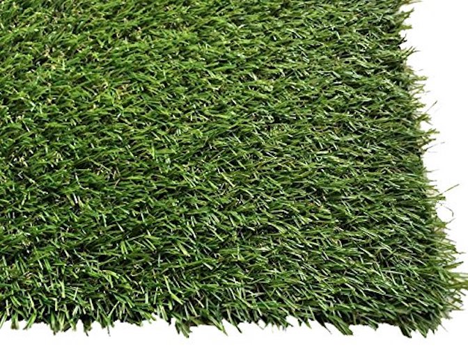 2. Pet Zen Garden Synthetic Grass Rubber Backed with Drainage Holes, 1