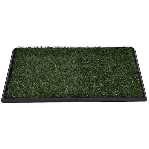 9. Giantex Puppy Pet Potty Training Pee Indoor Toilet Dog Grass Pad Mat Turf Patch