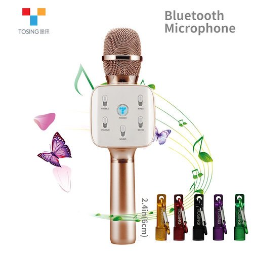Top 10 Best Microphones For Singing at Home in 2018 Reviews
