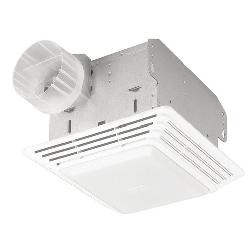 2. Broan 678 Ventilation Fan and Light Combination, 50 CFM and 2.5-Sones