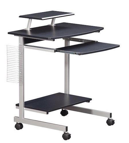 2. Mobile & Compact Complete Computer Workstation Desk.