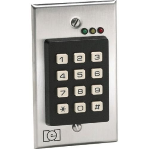 Best Commercial Electronic Door Lock Systems: 7. IEI 212i Indoor Flush-mount Keypad