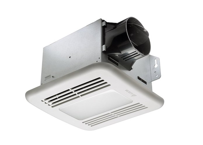 1. Delta BreezGreenBuilder GBR80LED 80 CFM Exhaust Bath Fan/Dimmable LED Light