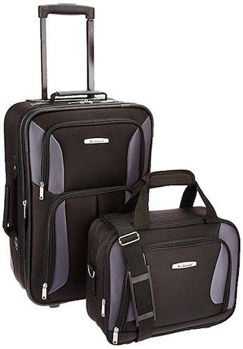 6. Rockland Luggage 2 Piece Set