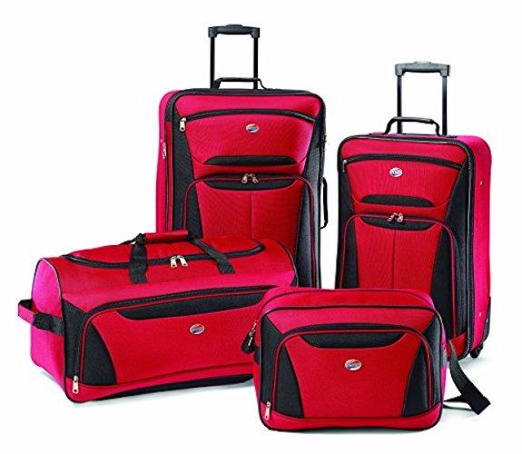 1. American Tourister Luggage Fieldbrook II 4 Piece Set