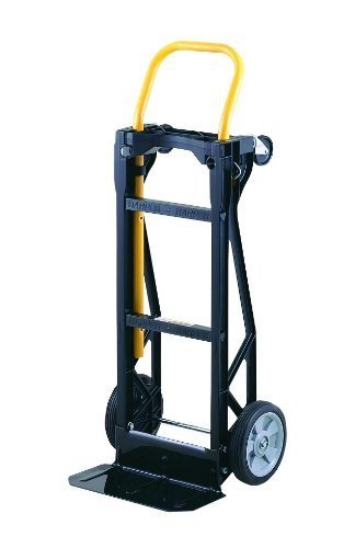 4. Harper Trucks Lightweight 400 lb Capacity Nylon Convertible Hand Truck and Dolly