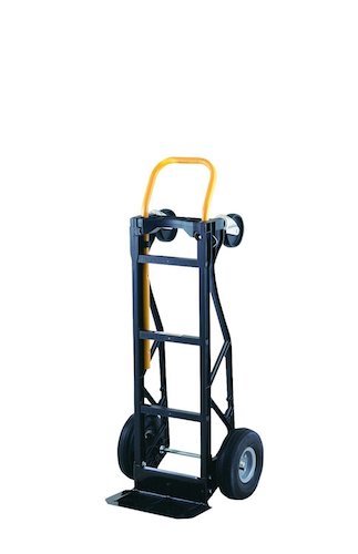 8. Harper Trucks 700 lb Capacity Glass Filled Nylon Convertible Hand Truck and Dolly with 10