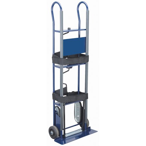 6. 600 Lbs. Capacity Appliance Hand Truck Stair Climber Steel Frame by Haul Master