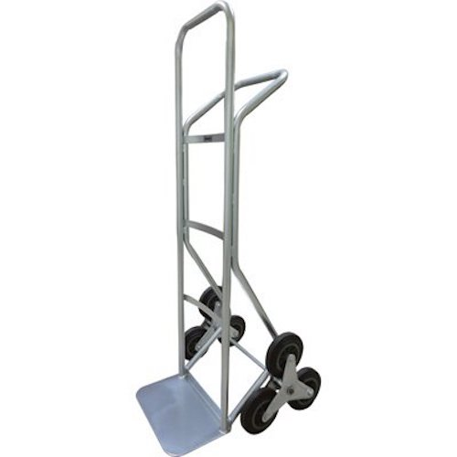 1. Roughneck Stair Climber Hand Truck - 550-Lb. Capacity, Solid Rubber Tires