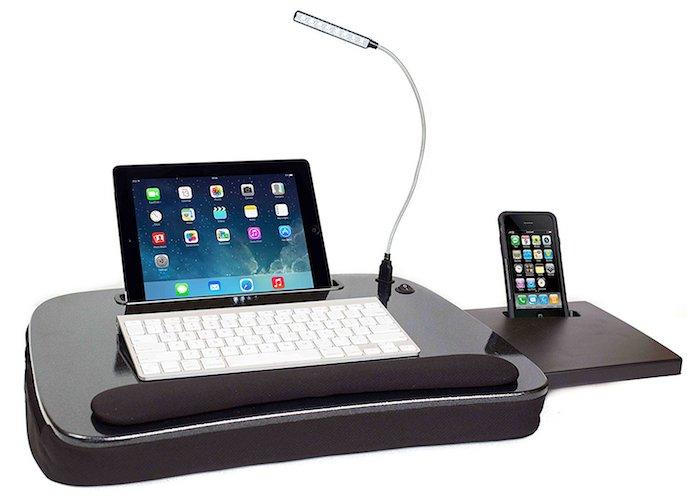 10. Sofia + Sam Multi Tasking Memory Foam Lap Desk