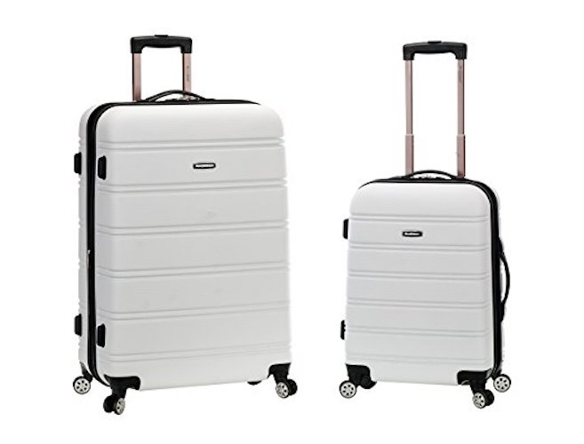 9. Rockland Luggage 20 Inch and 28 Inch 2 Piece Expandable Spinner Set