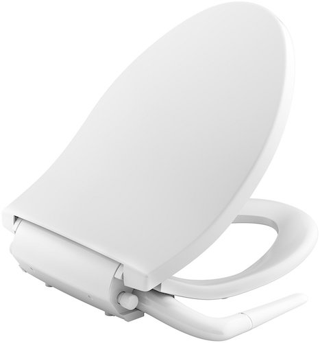 8. KOHLER K-5724-0 Puretide Elongated Manual Bidet Seat, White