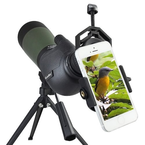 Top 10 Best Waterproof Spotting Scopes For Bird Watching in 2019 Reviews