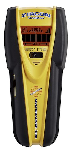 10. Zircon MultiScanner i520-FFP Center Finding Stud Finder with Metal and Live AC Wire Detection