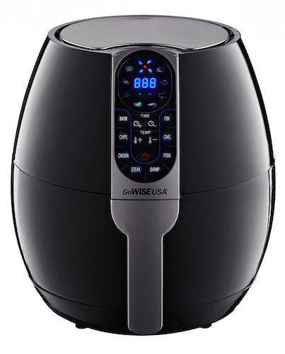 2. GoWISE USA 3.7-Quart Programmable Air Fryer with 8 Cook Presets, GW22638