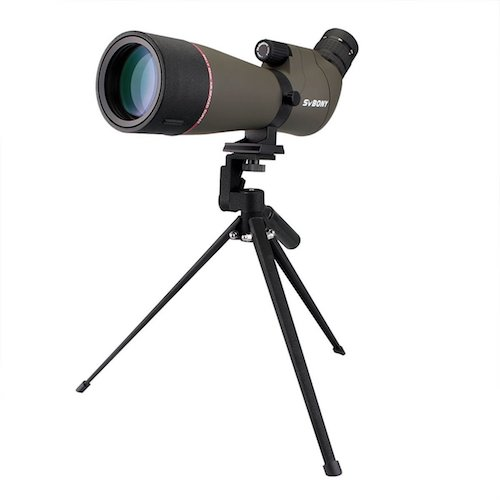 7. SVBONY 20-60X80 spotting scope