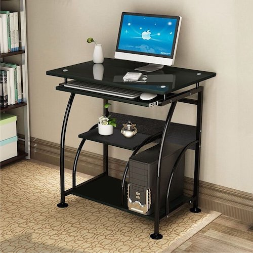 5. Oshion PC Corner Computer Desk Laptop Table Workstation Furniture Home Office