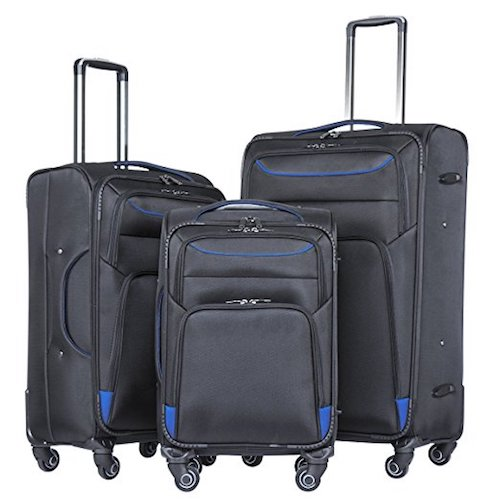 Top 10 Best Luggage Sets for International Air Travel in 2021 Reviews