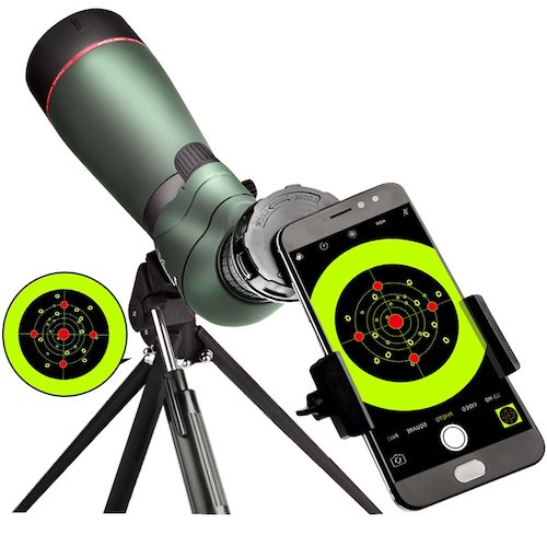 5. Landloe 20-60x 65 waterproof spotting scope