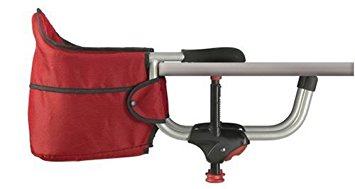 5. Chicco Caddy Hook On Chair, Red