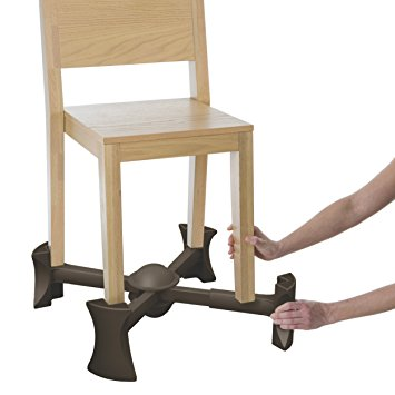 10. KABOOST Portable Chair Booster - Chocolate