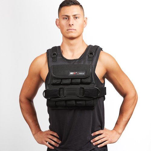 7. MIR 50lbs Short Adjustable Weighted Vest