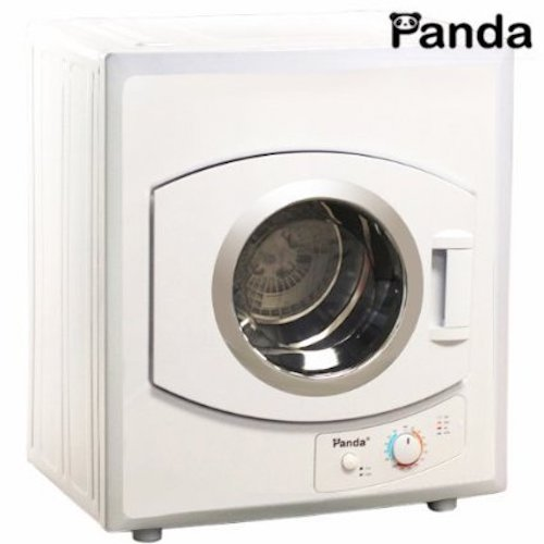8. Panda Portable Dryer 2.65 cu.ft 110v Compact Apartment Size Stainless Steel Drum See Through Window