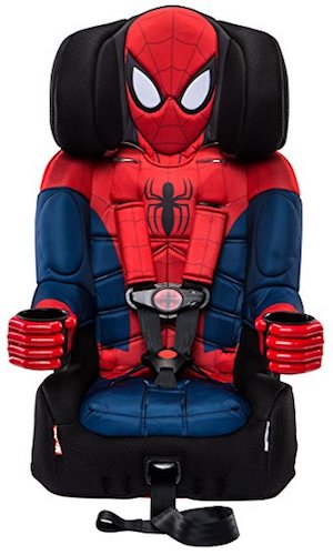 9. KidsEmbrace Combination Toddler Harness Booster Car Seat, Marvel's Ultimate Spider-Man