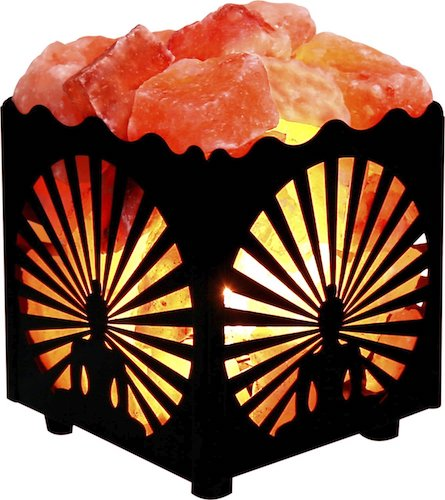 9. Crystal DÉCOR Natural Himalayan Salt Lamp