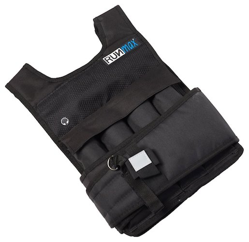 1. Runfast/Max Pro Weighted Vest 12Lbs