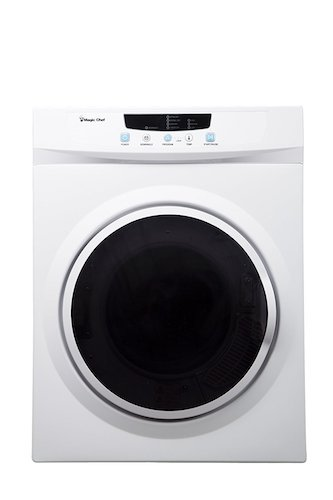 4. Magic Chef MCSDRY35W 3.5 cu. ft. Laundry Dryer