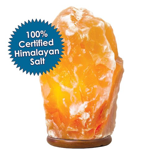 10. Himalayan Salt Lamp- Natural Hand Carved 100% Authentic