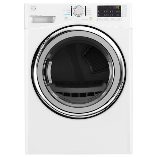 6. Kenmore 81382 7.4 cu. ft. Electric Dryer with Steam in White, includes delivery and hookup