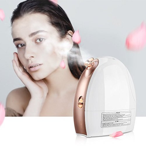 5. Lavany Facial Steamer Nano Ionic Hot & Cool Mist Moisturizing Face Steamer