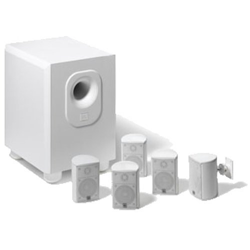 1. Leviton AEH50-WH Architectural Edition Powered By JBL 5-Channel Surround Sound Home Cinema Speaker