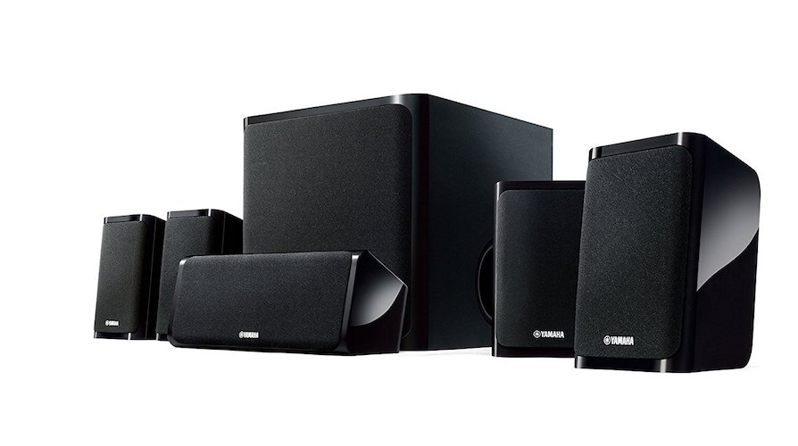 2. Yamaha NS-P40BL 5.1 Speaker Package
