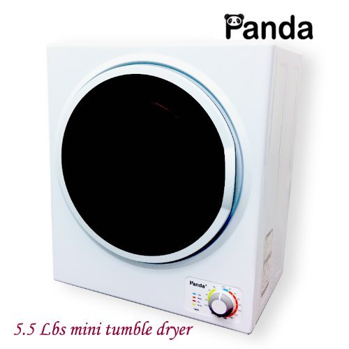 2. Panda Small Mini Compact Stainless Steel Tumble Dryer