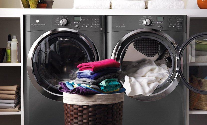 7. Electrolux Laundry Bundle | Electrolux EIFLS60LT Washer & Electrolux EIMGD60LT Gas Dryer