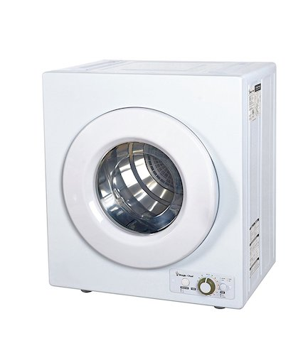 1. Magic Chef MCSDRY1S 2.6 cu. Ft. Laundry Dryer
