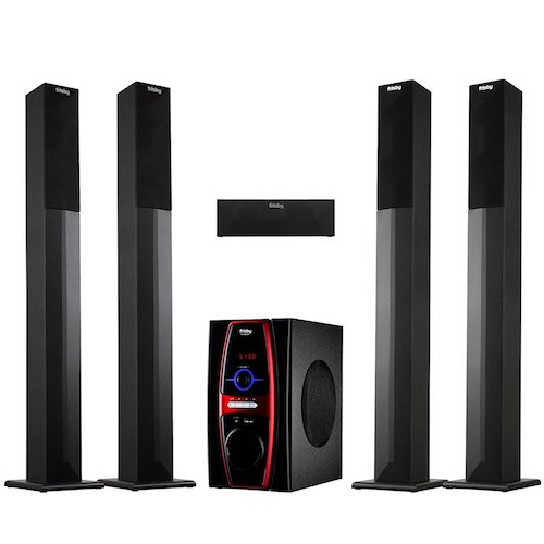 10. Frisby FS-6600BT 5.1 Channel Stereo Home Theater System