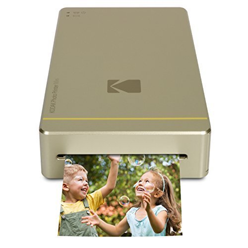 4. Kodak Mini Portable Mobile Instant Photo Printer - Wi-Fi & NFC Compatible - Wirelessly Prints 2.1 x 3.4
