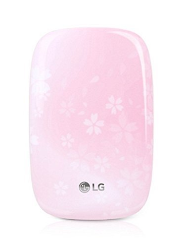 8. Brand New LG Pocket Photo(Portable Photo Printer) - PD269 Cherry Blossom (pink) with Photo Paper 10 sheets and Data Cable