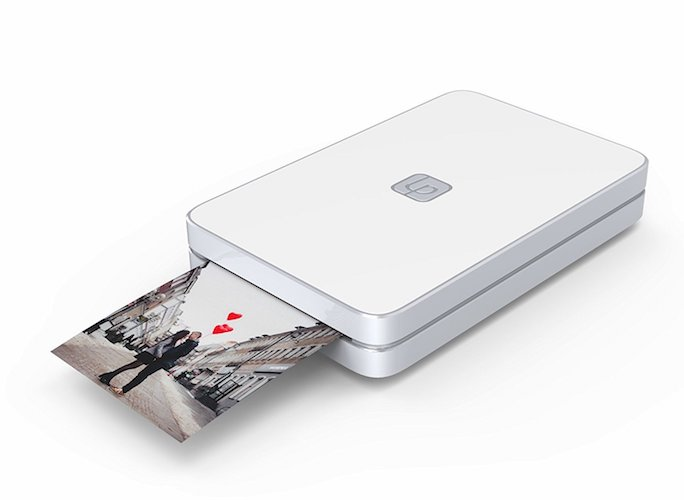 6. Lifeprint 2x3 Portable Photo AND Video Printer for iPhone and Android. Make Your Photos Come To Life w/ Augmented Reality - White